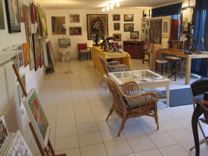 Petit aperçu de la galerie Margot à PAYRAC